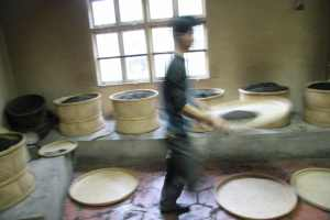 A charcoal-firing room in WuyiShan, Fujian, China. Photograph by Mary Lou Heiss